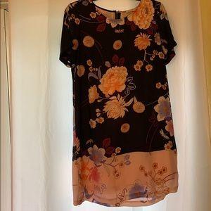 Daniel Rain Floral Mini Dress